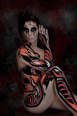Bodypainting-Holland-fantasy-Looklab
